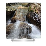 Gushing Water Shower Curtain