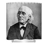 Gustav Theodor Fechner Shower Curtain
