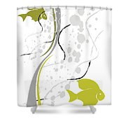 Abstraction 074 Marucii Shower Curtain