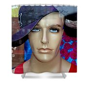 Gym Boy Jim Shower Curtain