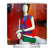 Gym Socks And Jewels Shower Curtain