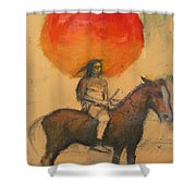 Gypsi Indian Shower Curtain