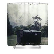 Gypsy Caravan Shower Curtain by Joana Kruse