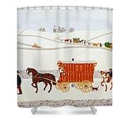 Gypsy Caravan Shower Curtain