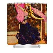 Gypsy Dancer Shower Curtain
