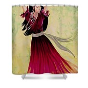 Gypsy Dancer Shower Curtain
