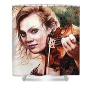 Gypsy In My Soul Shower Curtain
