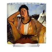 Gypsy With A Cigarette Shower Curtain