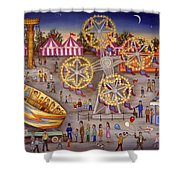 Gyro At The Carnival Shower Curtain