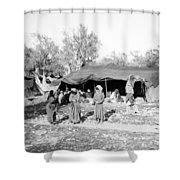 Gyspy Encampment, C1900 Shower Curtain