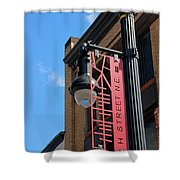 H Street Shower Curtain