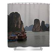 Ha Long Bay   Vietnam   #0521 Shower Curtain