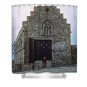 Haakon's Hall Shower Curtain