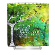 Habitat Shower Curtain