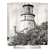 Haceta Head Lighthouse 2 Shower Curtain