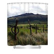 Hacienda El Porvenir Ranch View Shower Curtain