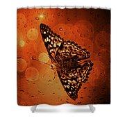 Hackberry Emperor - Asterocampa Celtis Shower Curtain