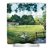 Hadlow Cricket Club Shower Curtain