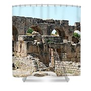 Hadrian's Baths Shower Curtain