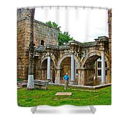 Hadrian's Gate In Antalya-turkey Shower Curtain