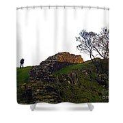 Hadrians Wall Shower Curtain