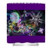Haeckel Sea Shower Curtain