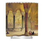 Haghia Sophia, Plate 11 The Meme Shower Curtain
