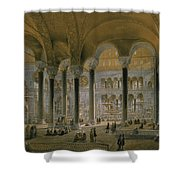 Haghia Sophia, Plate 6 The North Nave Shower Curtain