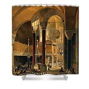 Haghia Sophia, Plate 8 The Imperial Shower Curtain