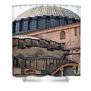 Hagia Sofia Close Up Shower Curtain