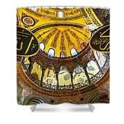 Hagia Sofia Interior 07 Shower Curtain