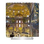 Hagia Sofia Interior 17 Shower Curtain