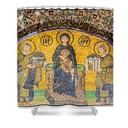 Hagia Sofia Mosaic 03 Shower Curtain