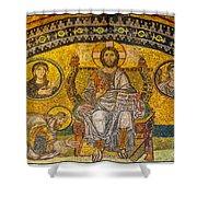 Hagia Sofia Mosaic 04 Shower Curtain