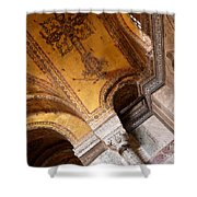 Hagia Sophia Arch Mosaics Shower Curtain