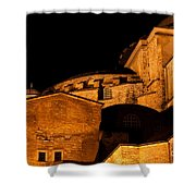 Hagia Sophia At Night Shower Curtain