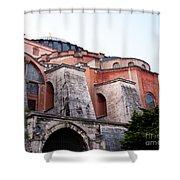 Hagia Sophia Buttresses Shower Curtain