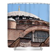 Hagia Sophia Curves 01 Shower Curtain
