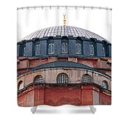 Hagia Sophia Curves 02 Shower Curtain