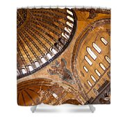 Hagia Sophia Dome 01 Shower Curtain
