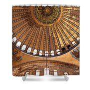 Hagia Sophia Dome 02 Shower Curtain