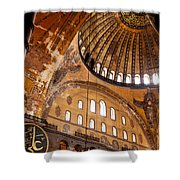 Hagia Sophia Dome 03 Shower Curtain