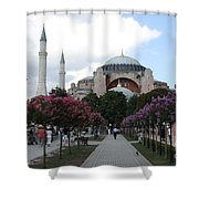 Hagia Sophia I - Istanbul - Turkey Shower Curtain