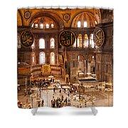 Hagia Sophia Interior 04 Shower Curtain