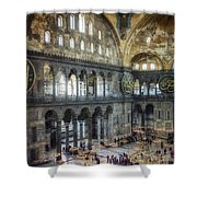 Hagia Sophia Interior Shower Curtain by Joan Carroll