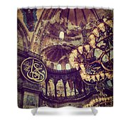 Hagia Sophia Lighting Shower Curtain