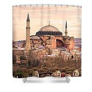 Hagia Sophia Mosque - Istanbul Shower Curtain