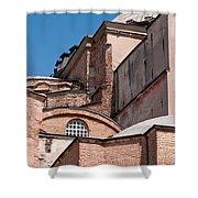Hagia Sophia Walls 01 Shower Curtain