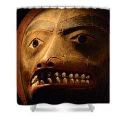 Tlingit Mask Shower Curtain