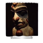 Haida Carving 1 Shower Curtain